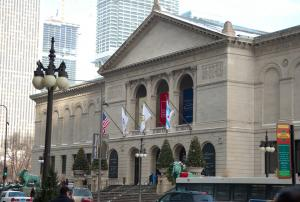 The magnificent Art Institute of Chicago.