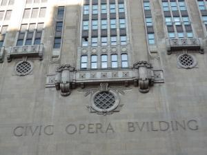 Home of the Lyric Opera in downtown Chicago.