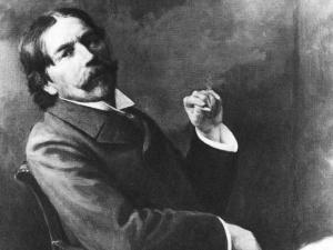 Thorstein Veblen, best known for his book The Theory of the Leisure Class (1899), taught economics and sociology at the University of Chicago.