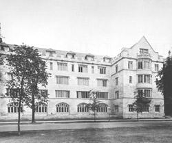 Social Sciences Research Building, 1929; home of the Fishbein Center and the Department of History